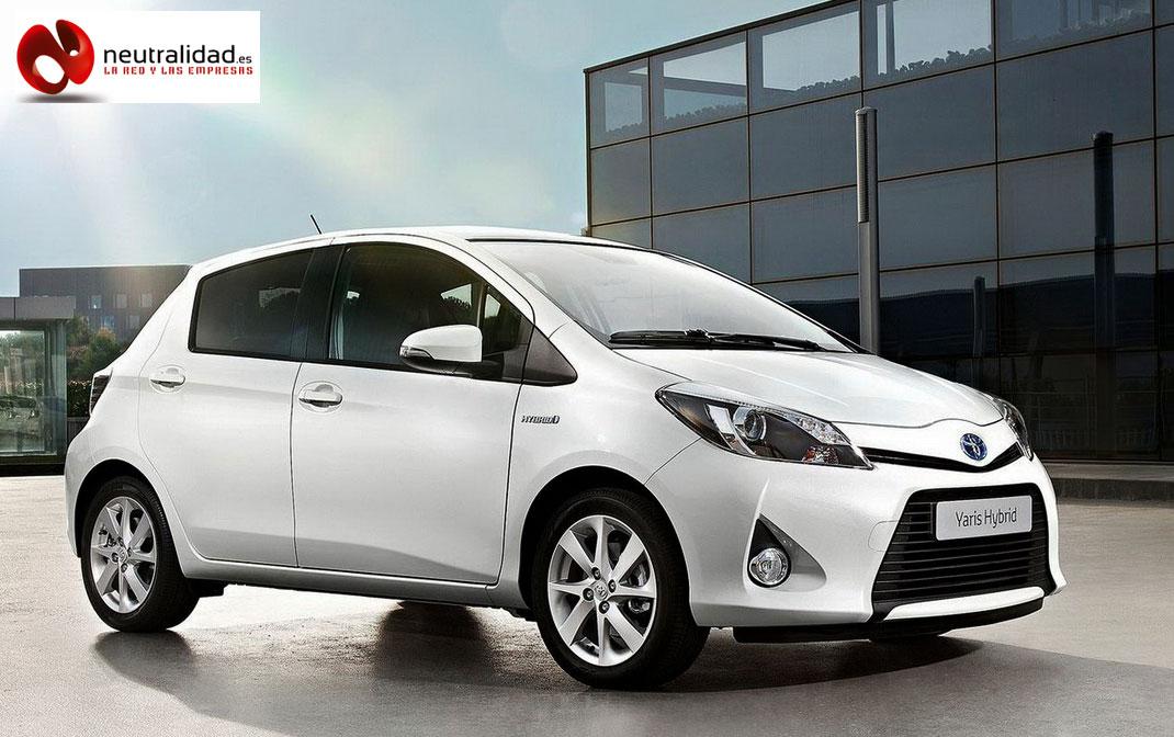 Toyota Yaris Hybrid en concesionario Cobelsa de Luis Batalla